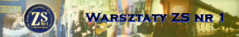 Warsztaty ZSnr1